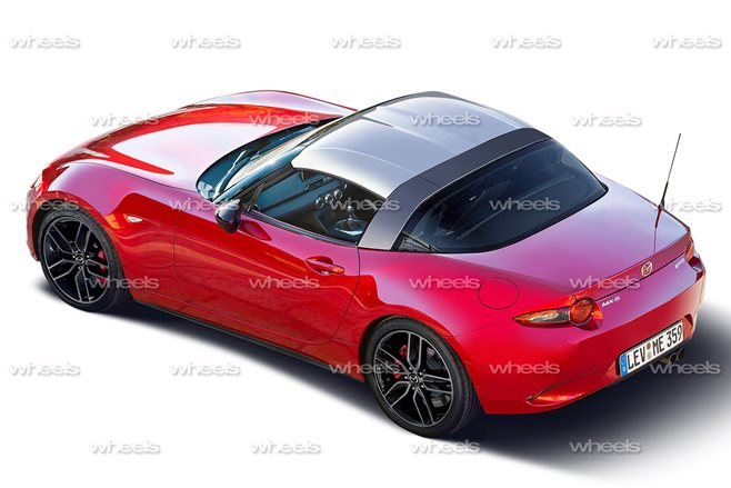 Mazda Mx 5 To Get Targa Look Wheels