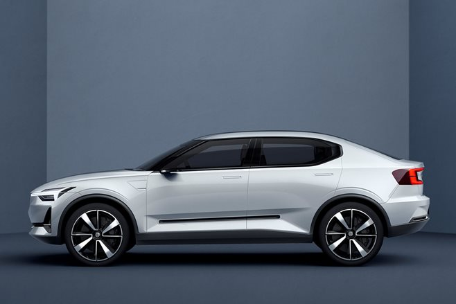 Volvo 40 Series paves a new path to electric compact cars