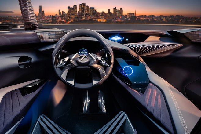 Lexus UX Concept Previews Crazy Futuristic Alien Interior