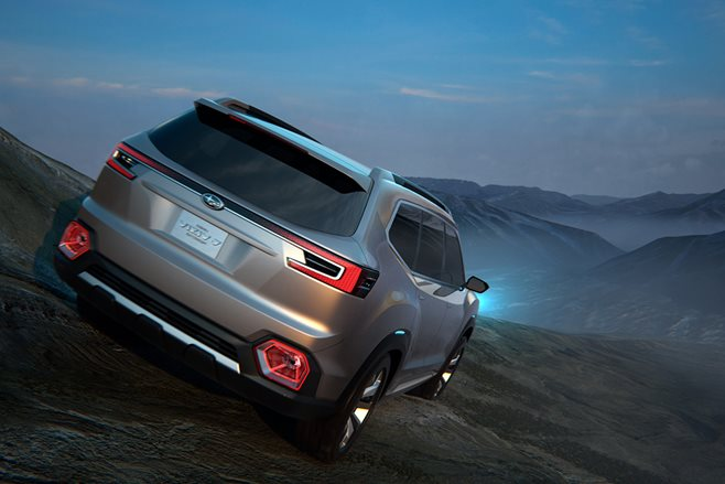 Subaru goes big with 7-seat crossover concept