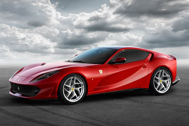 The Ferrari 812 Superfast Is Maranello's Most Powerful Production Car Ever