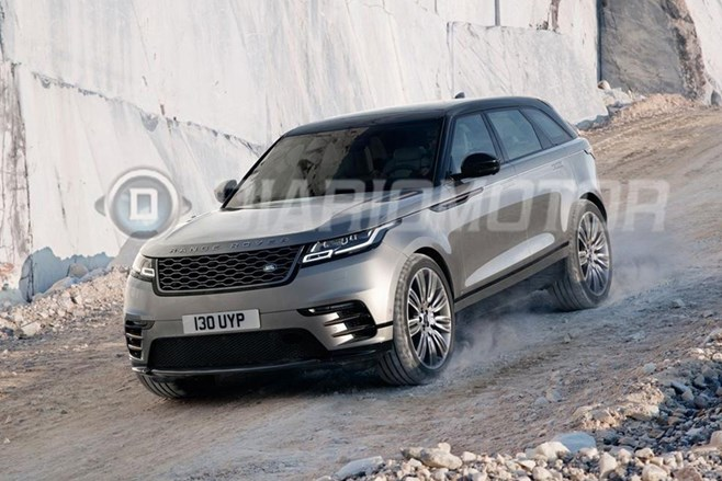 Range Rover Velar unveiled, India launch by 2018
