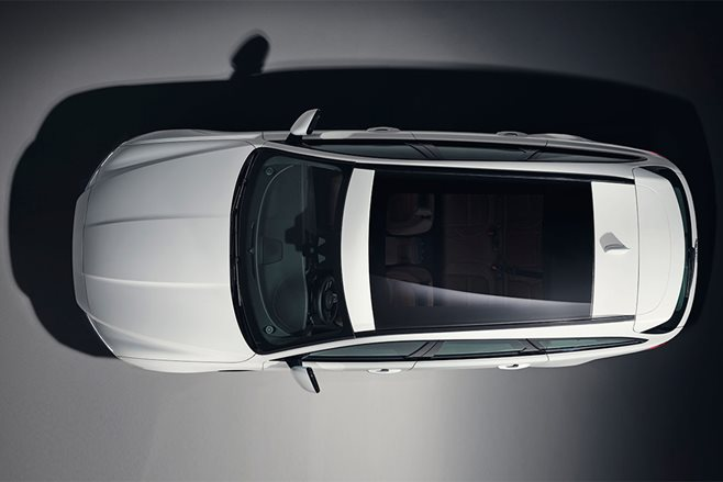 New Jaguar XF Sportbrake estate: bird's eye view revealed