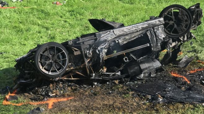 Ex-Top Gear host Richard Hammond injured in crash