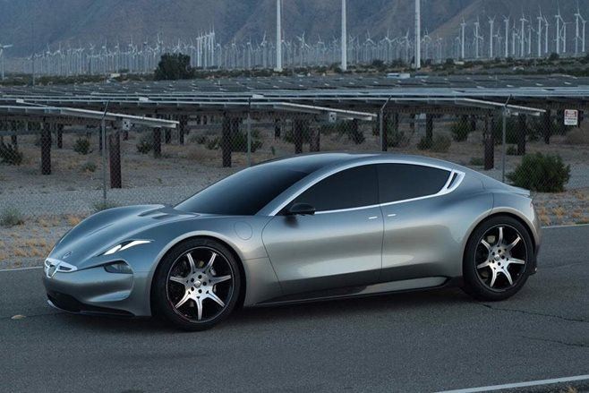 Henrik Fisker unveils the 2019 Fisker EMotion