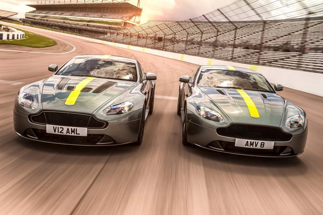 Aston Martin up the ante with new AMR Vantage specials