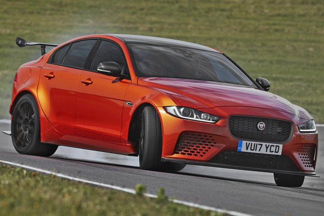 Listen to the Jaguar XE Project 8