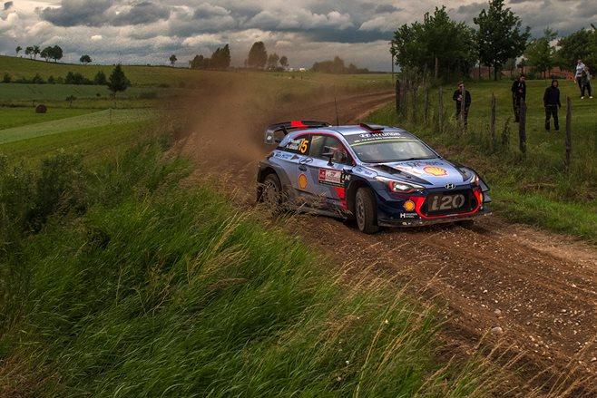 Neuville wins Rally Poland after Tanak crashes out