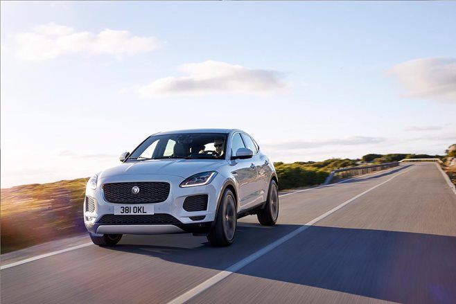 New Jaguar E-PACE Rolls into the Record Books