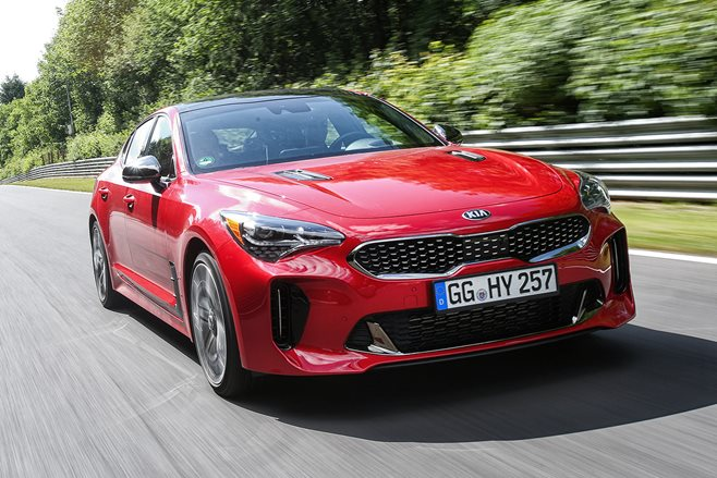 How much is the new Kia Stinger?