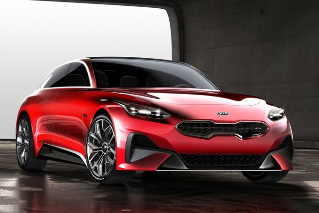 Kia Proceed Concept is a sleek Stinger-y wagon