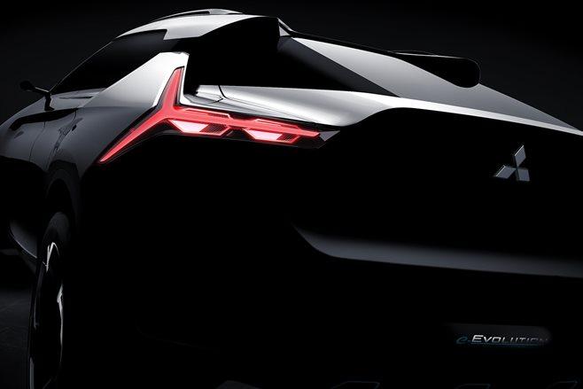 Mitsubishi confirms e-EVOLUTION Concept for Tokyo