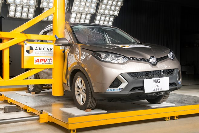 MG GS becomes first Chinese auto to nab ANCAP'S top honour