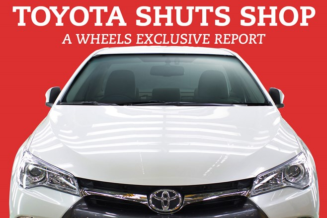 The last Australian-made Toyota rolls off the production line today