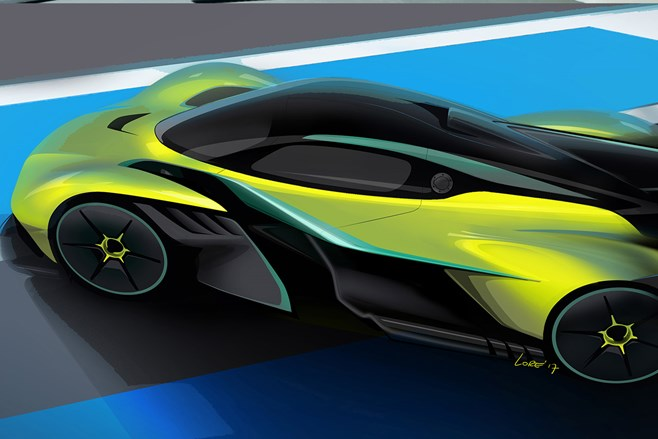 Aston Martin Valkyrie: Track version of vehicle designed by Adrian Newey