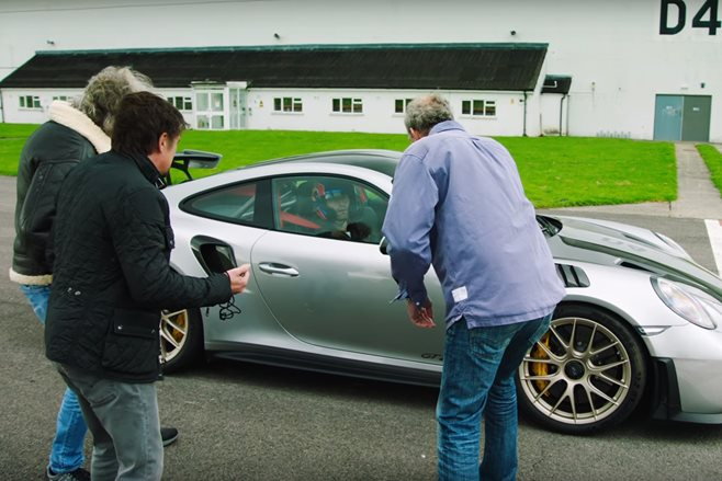 Watch Mark Webber's Hilarious Audition for 'The Grand Tour'