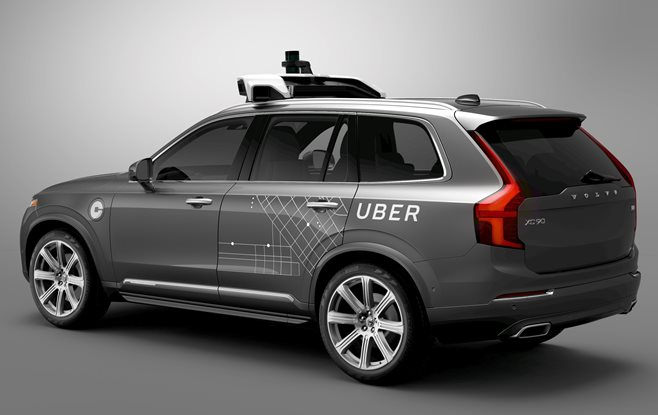 Volvo Cars Will Supply Uber With Up to 24000 Self-Driving Cars