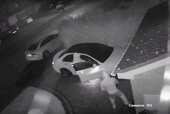 Gone in 60 seconds: Mercedes thieves 'tricked' auto to open without key