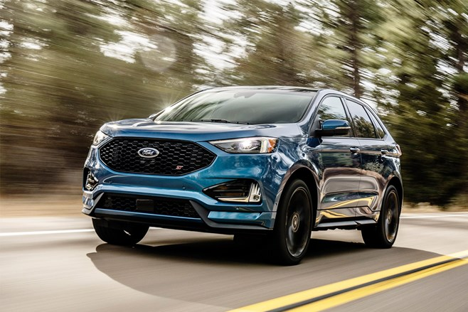 Ford gives Edge the ST treatment