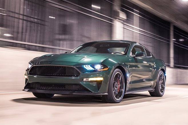 2018 Detroit Motor Show Mc Queens Bullitt Mustang reimagined