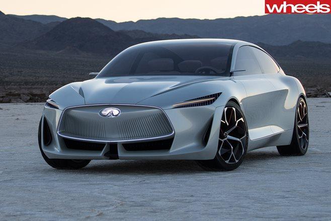 Infiniti Sedan Design Showed Off At Detroit?