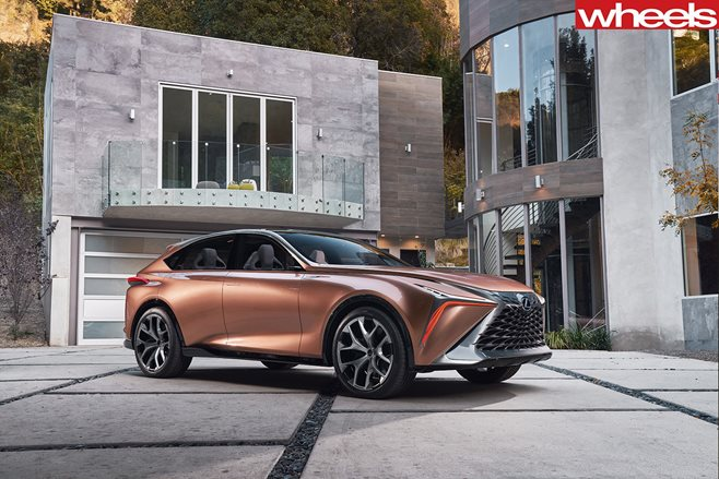 Lexus LF-1 Limitless Concept previews a new range-topping Lexus Crossover