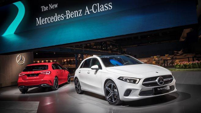 Mercedes-Benz A-Class pushes new boundaries