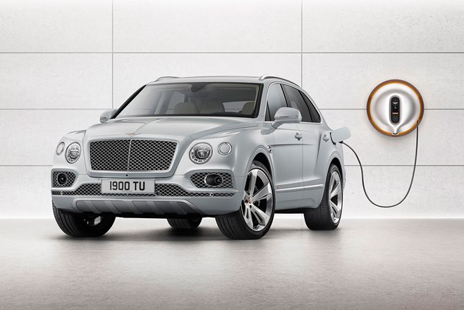 Bentley Bentayga Goes Electric With First Ever Plugin Hybrid