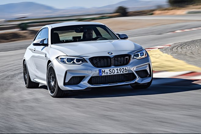BMW M2 Competition Is Official With 405 Horsepower