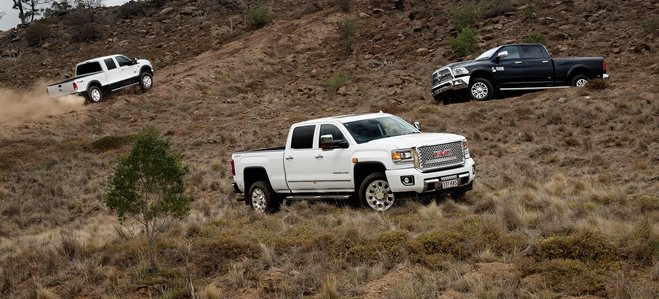 American Pick-up truck comparison