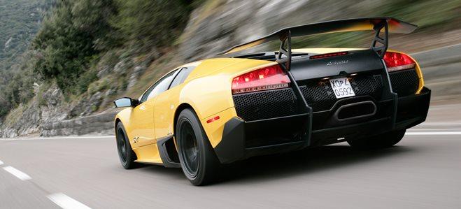 Lamborghini Murcielago SV wallpaper