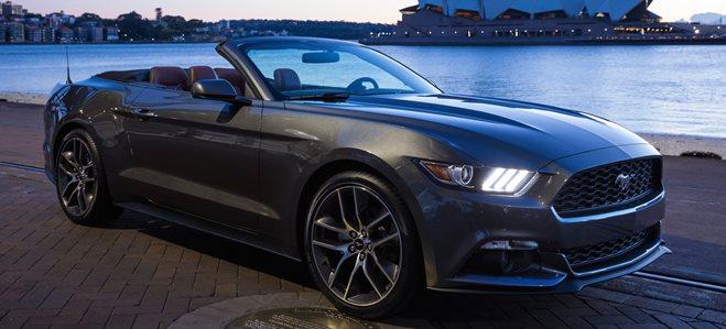 Aussie V8 Mustang demand strong