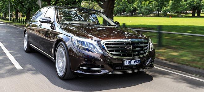 2016 Mercedes-Maybach S600: Sheikh Shifter