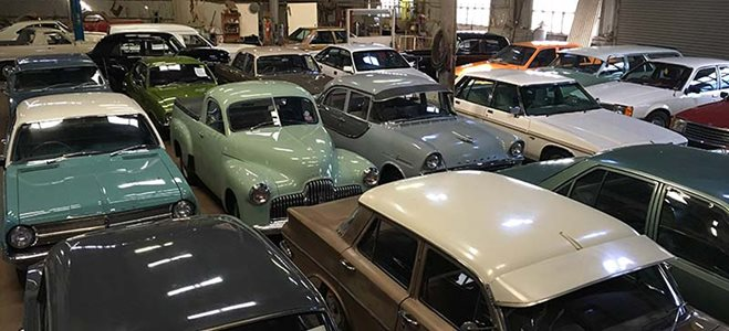 Old Holden car auction