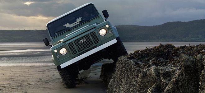 2016 Land Rover Defender Heritage 90 6MT
