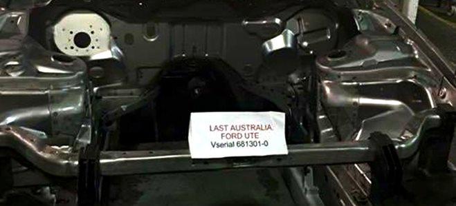 Ford Australia ute