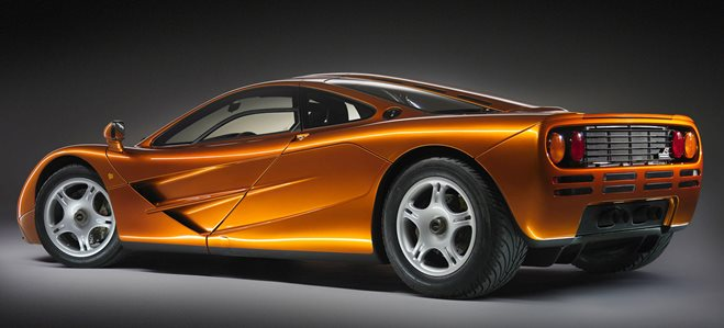 McLaren F1 supercar