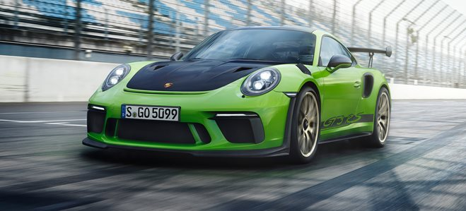 2018 Porsche GT3 RS blasts in from 416500