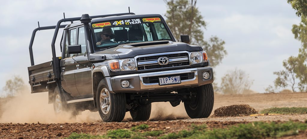 2017 4X4 Of The Year finalist: Toyota LandCruiser 79