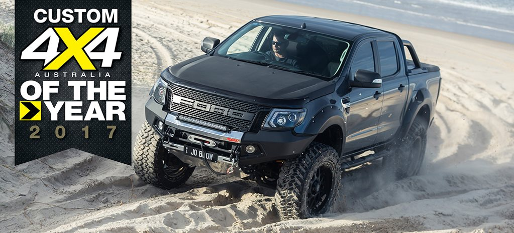 Ford Ranger Coyote V8 main