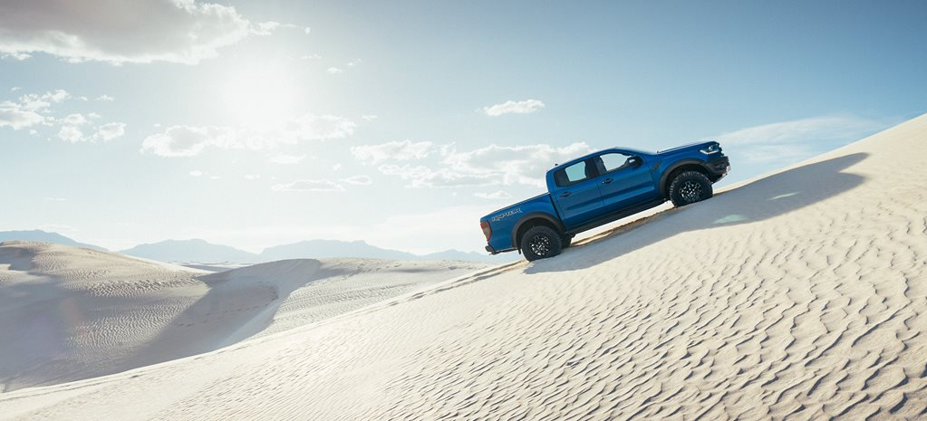 2019 Ford Ranger Raptor side