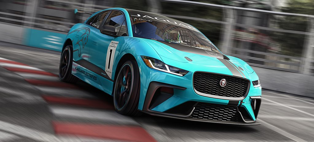 Jaguar electric performance SUV main