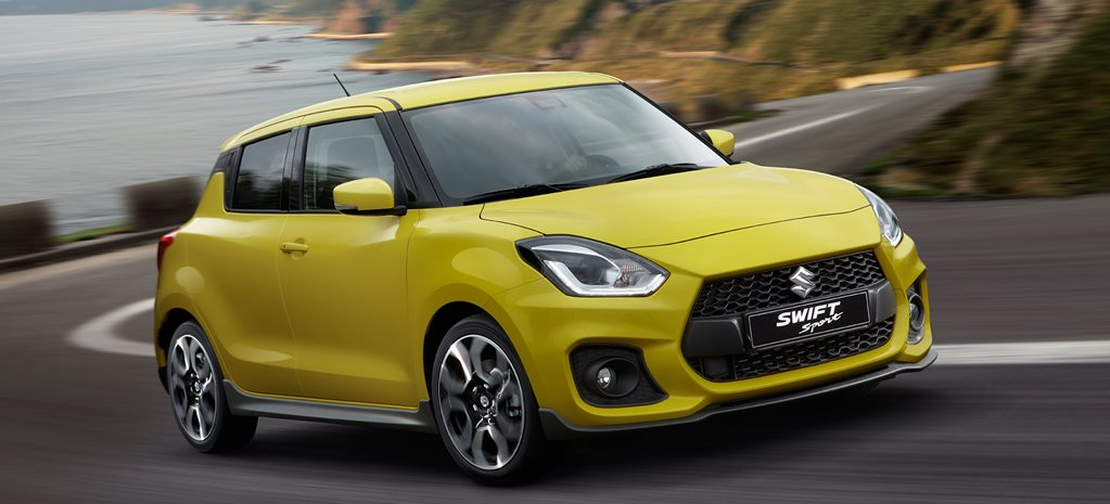 Suzuki Swift Sport revealed