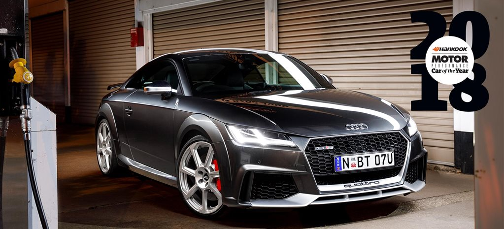 Audi TT RS Performance Car of the Year 2018 6th