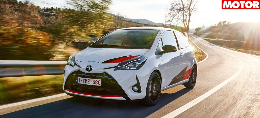 2018 Toyota Yaris GRMN review feature
