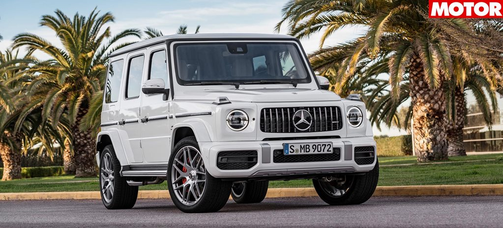 Mercedes AMG G63 pricing revealed main
