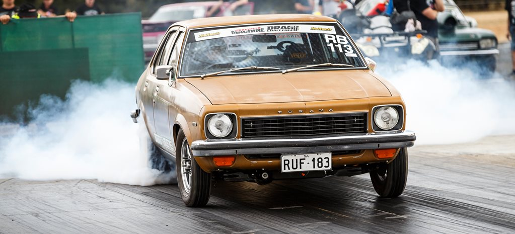 LH Torana 2JZ turbo wide
