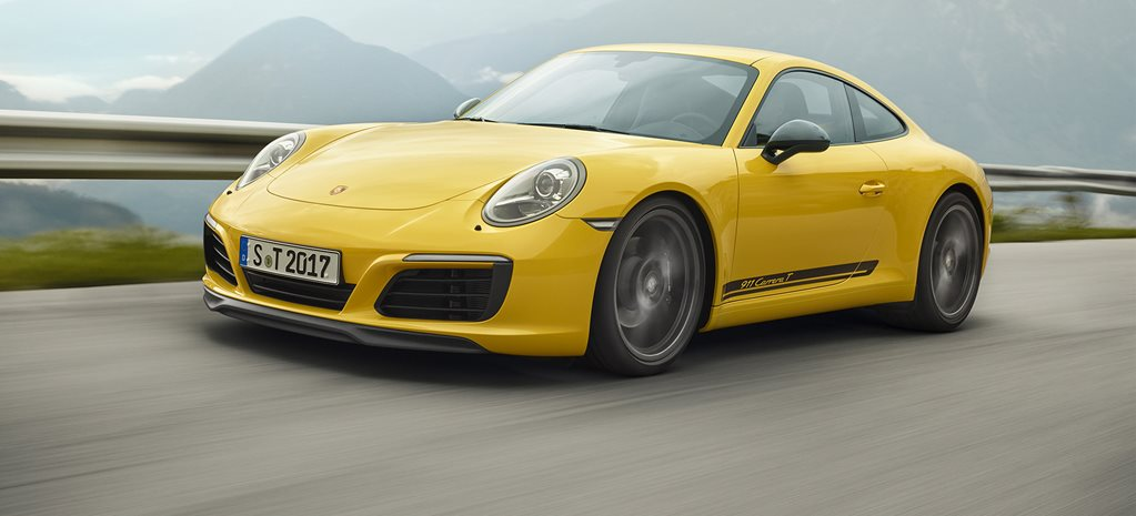 Porsche launches back-to-basics 911T