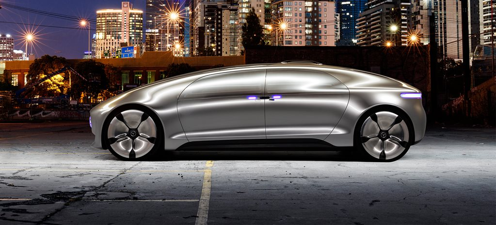 Mercedes-Benz F 015 video review