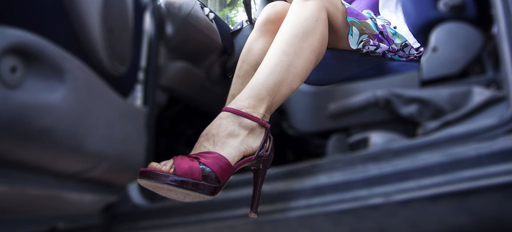 Does your footwear affect the way you drive?